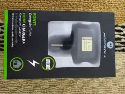 Promoção Carregador Motorola Turbo Completo
