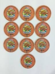 10 Magic Tazo Tiny Toon - 5 Pontos