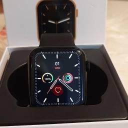 Smartwatch Iwo w26 relógio tela infinita