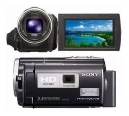 Filmadora Sony Hdr-pj10 Full HD ideal para live de qualidade