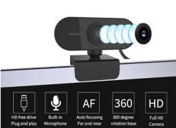 Webcam Usb Full Hd 1080 Mini Câmera De Visão 360º Microfone entregamos