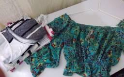 Pack de Blusinhas Femininas Verão