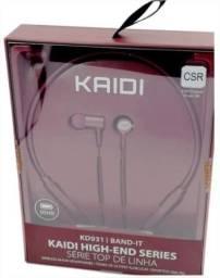 Fone De Ouvido Kaidi Bluetooth 10 Horas De Música NOVO !