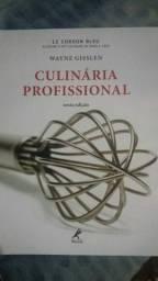Livro de culinária profissional