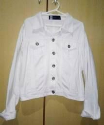 Jaqueta branca feminina