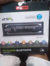 Auto rádio CD bluetooth