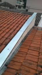 Manutenção de telhados e reparos com solda