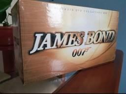 Box James Bond 007 Com 42 Discos + Dvd Brinde