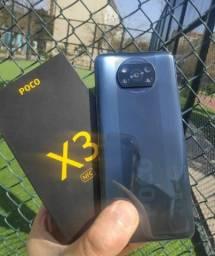 Celular Poco X3 NFC Xiaomi 128gb 6gb novo lacrado