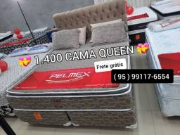 Cama Queen nova de fábrica com entrega grátis no mesmo dia do pedido