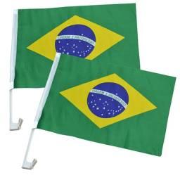 Bandeira Brasil Carro - 2 peças