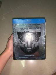 DVD Blu-ray Transformers 3 filmes EDIÇÃO PARA COLECIONADOR