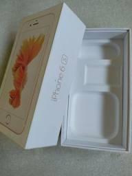 Somente a caixa do iPhone 6 s