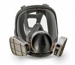 Respirador Série 6800 3M Completo