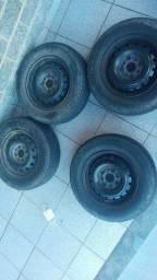 Aro 13 com pneus