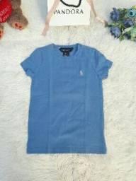 Blusa Azul Ralph Lauren