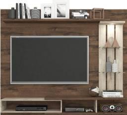 Título do anúncio: Rack suspenso em MDP e espaço para TV (L 139 x A 102 cm) NOVO