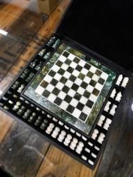 Tabuleiro de Xadrez de Mármore