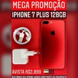 Super promoção iPhone 7plus 128gb