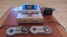Super Nintendo completo com 100 jogos, NÃO ACEITO TROCAS !!!
