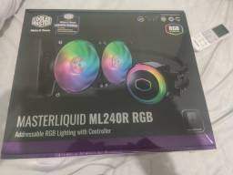Water cooler Masterliquid ML240R RGB Cooler Master - Novo