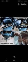 Cadeira para barbearia