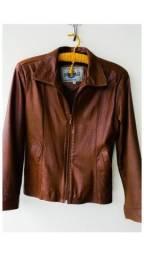 Jaqueta de couro legítimo  100% Couro (Feminina)