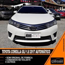 Toyota Corolla GLI 1.8 2017 Automático