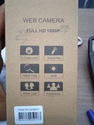 Web câmera Full HD 1080p