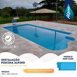 TA- Super promoção piscina de fibra direto de fábrica - Alpino piscinas