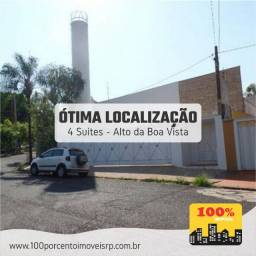 Casa com 04 dormitórios co Alto da Boa Vista