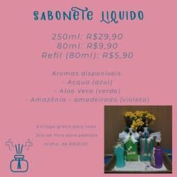Sabonete líquido artesanal