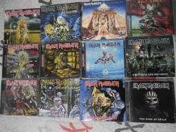 Coleção 12 CDs Iron Maiden