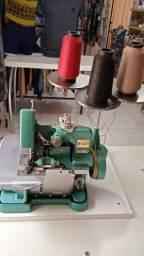 Máquina de costura semi industrial overlock