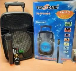 Potente caixa de som produto novo caixa de som