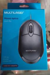 Mouse Multilaser Novo lacrado