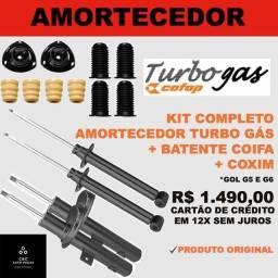 Kit amortecedor gol g5 g6 g7 cofap turbo gas