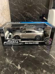 Jada Brians Nissan Gt-r 35 Fast & Furious Velozes E Furiosos Miniatura Réplica