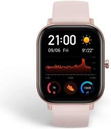 Relógio Smartwatch Amazfit GTS Rosa novo na caixa