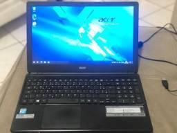 notebook accer aspire e-530-2. Leia o anúncio
