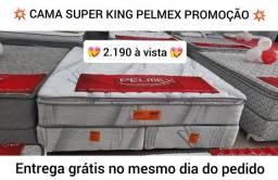Cama Super King molas ensacadas individualmente  - entrega grátis no mesmo dia do pedido