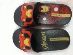 Sandália do homem de ferro