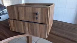 Mesa com gaveteiro 2 gavetas ARTESANO.