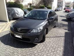 Toyota Corolla GLi 1.8 Flex + GNV 16V Aut Cinza 2 dono
