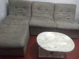 Vendo conjunto sofã usado