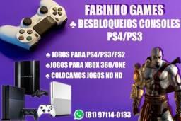 Título do anúncio: Destrave Ps3 Hen Ps4 Playstation Play