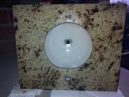 Pia banheiro de granito c/ bojo - Ipatinga/MG