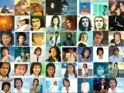 Coleção de CDs do rei Roberto Carlos