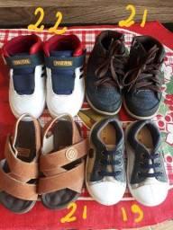 Combo calçado para menino