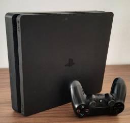 [LOJA FÍSICA] PS4 Slim 1 Tb - Nota Fiscal e Garantia de 90 dias.